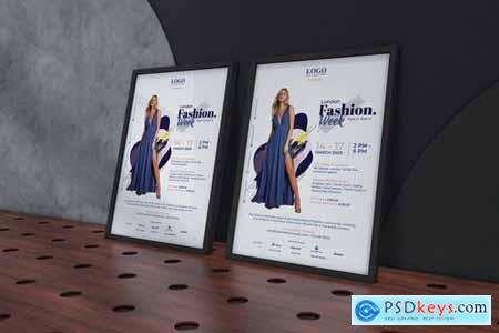 London Fashion Week Poster Template