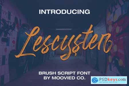 Lescyster Script Brush