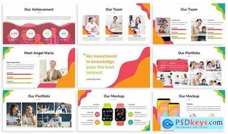 Kids Zone - Playful Powerpoint Template