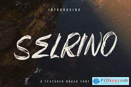 Selrino Brush Font