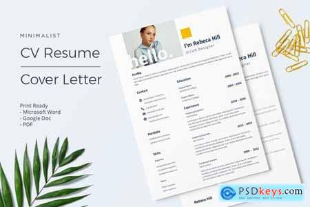 Rebeca- CV Resume Template