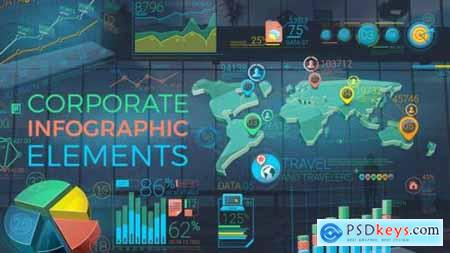 Videohive Colorful Corporate Infographic Elements 22933640