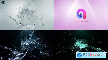 Videohive Water Splash Logo Reveal 2 25518227