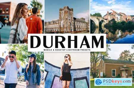 Durham Mobile & Desktop Lightroom Presets