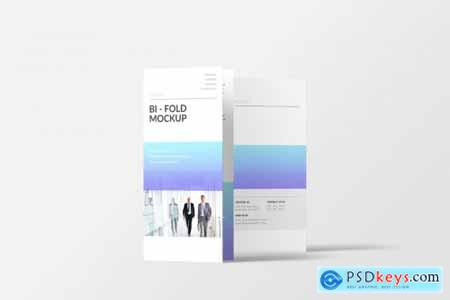 DL Bi-Fold Brochure Mockup 4357768
