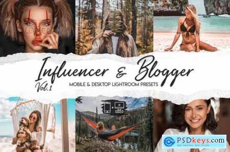 Influencer & Blogger Vol 1 - 15 Premium LRPresets