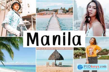 Manila Mobile & Desktop Lightroom Presets