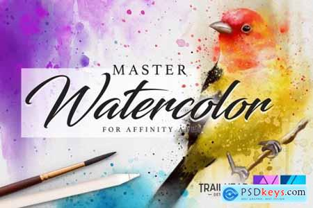 Master Watercolor Affinity Brushes 4494045