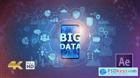 Videohive BIG DATA on Mobile Phone 25060830