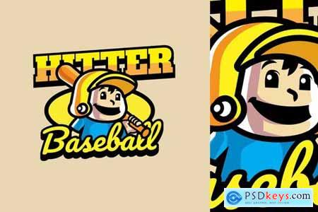 Baseball - Mascot Logo