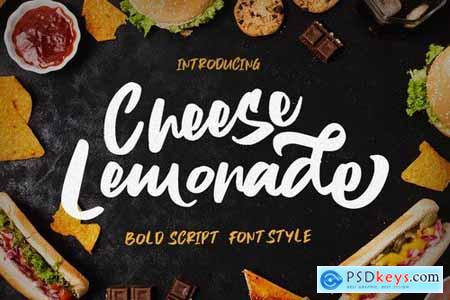 Cheese Lemonade - Script Brush Stylist Food