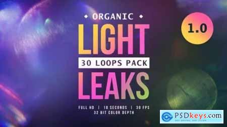 Videohive Organic Light Leaks 1.0 24079300