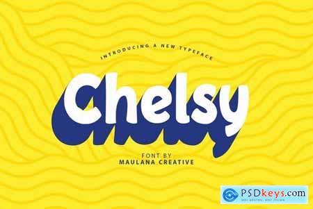 Chelsy - Cute Font Sans