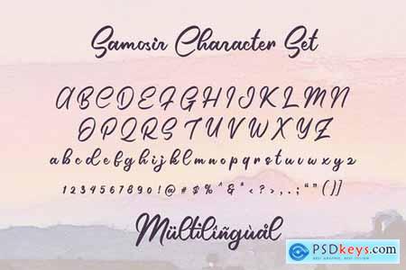 Samosir Handwritten Font 4510592