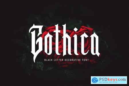 Gothica - Font
