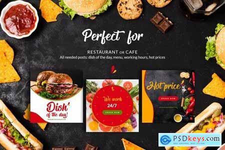 Restaurant Instagram Posts