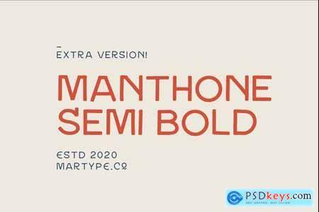 Manthone Semi Bold