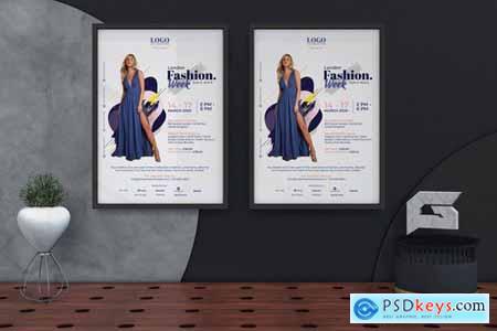 London Fashion Week Poster Template