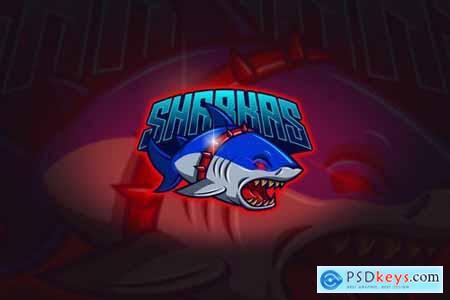 Shark - Mascot & Esport Logo