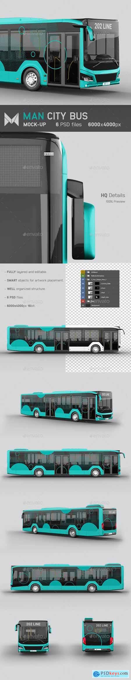 Man City Bus Mockup 25580351