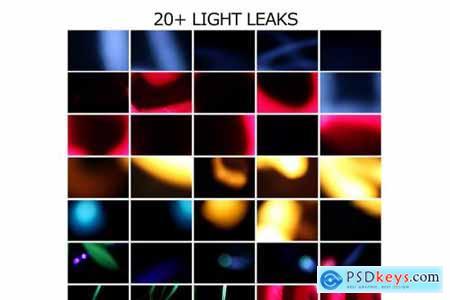 Big Pack Overlay LIGHT LEAK-Vol 01 4431393