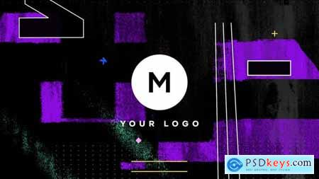 Videohive Grunge Distortion Logo 25595096