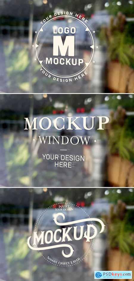 Window Signage Text Effect Mockup 318694588