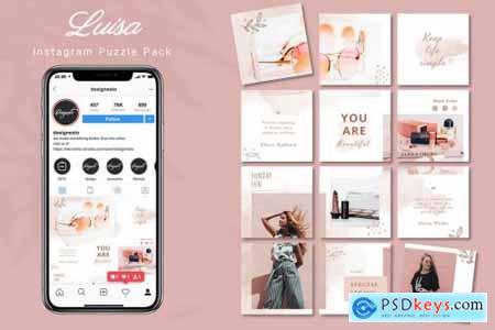 Luisa - Instagram Puzzle Pack