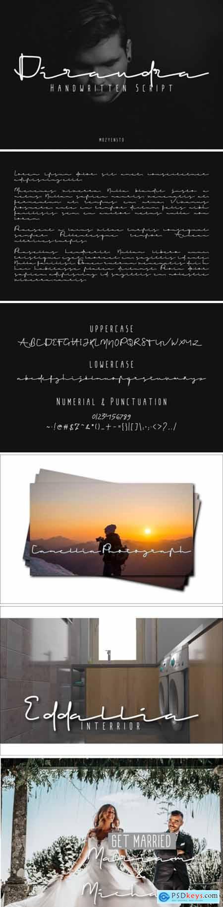 Dirandra Font