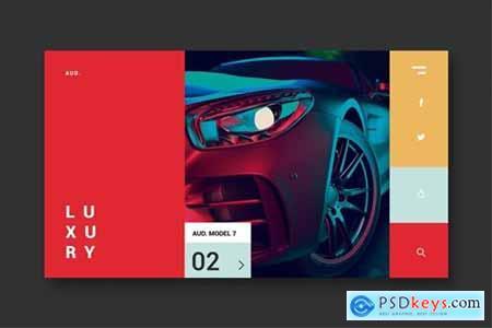 Luxury Cars - Landing Page