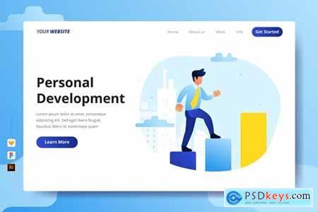 Personal Development - Landing Page