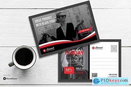 Lovaed - Creative Black Friday Postcard HR