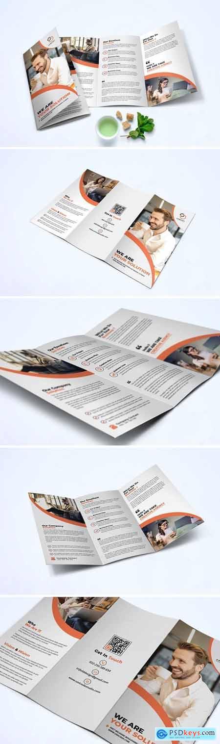 Trifold Business Brochure TPUMLA9