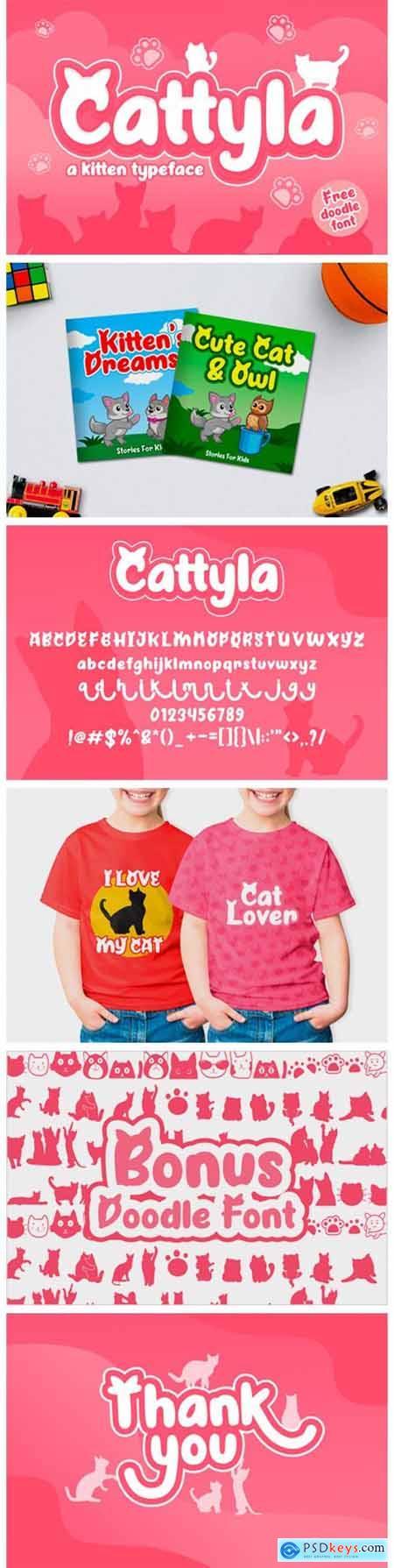 Cattyla Font