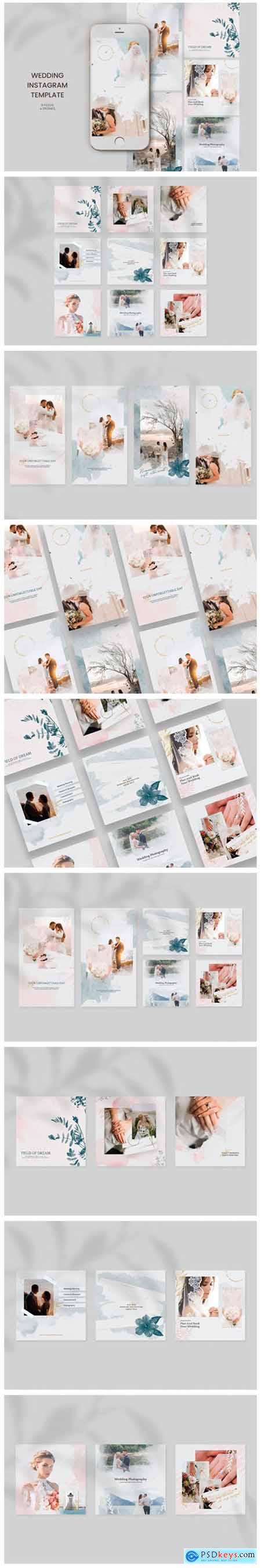 Wedding Instagram Templates 2658650