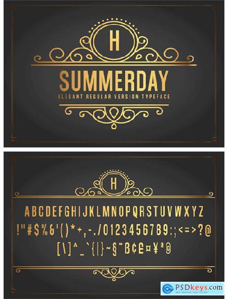 Summerday Font