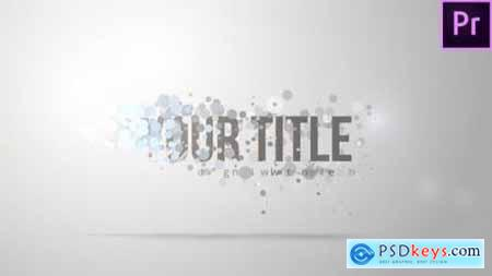 Videohive Smooth Particle Title 23349868