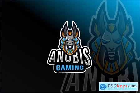Anubis Gaming Esport Logo Template