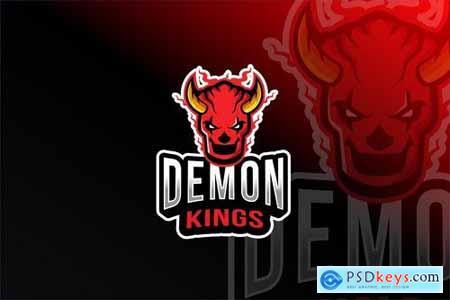 Demon Kings Esport Logo Template