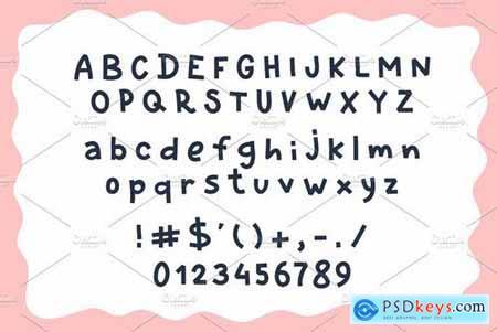Penbox comics style font 4518639