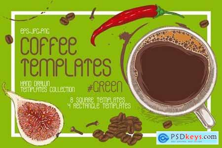 Coffee Templates Collection171