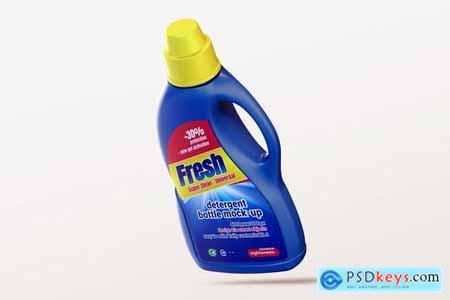 Detergent Bottle Mock-up Template