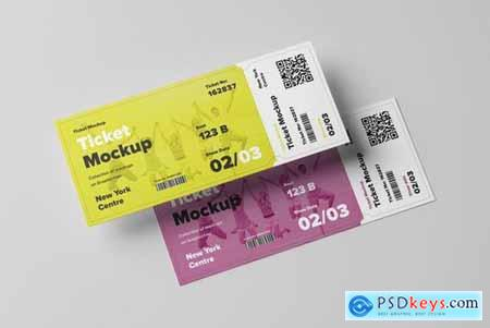Ticket Mock-up