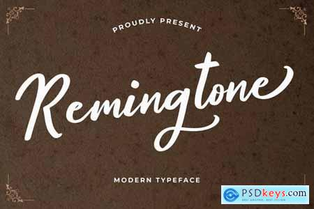 Remingtone Beautiful Calligraphy Font