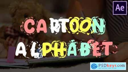 Videohive Cartoon Alphabet After Effects 25622907