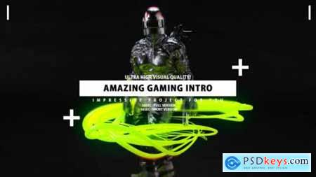 Videohive Gaming Intro Gamer channel opener 25628048