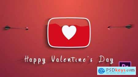 Videohive Valentines Day (Youtube Logo) 25587425