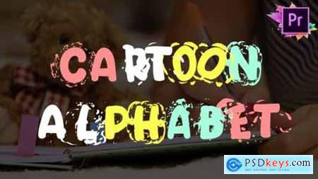 Videohive Cartoon Alphabet Premiere Pro MOGRT 25622956