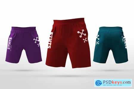 Athletic Shorts Mockups