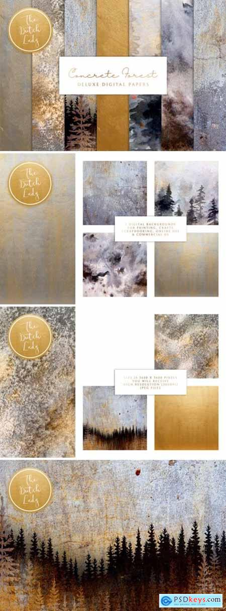 Digital Backgrounds - Concrete Forest 2654635